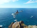 神威岬先端と神威岩