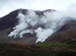 旭岳の噴煙