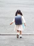 Yちゃん入学式へ