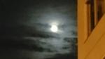旭川の十五夜の月