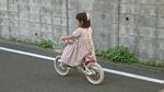 Yちゃん自転車乗り