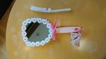 ナッチャン作の手鏡