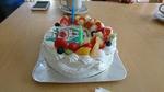 Rくんのバースデーケーキ