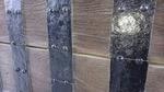 鉄と木材で出来た桜田門の門扉