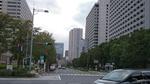 桜田門から桜田通りを観る