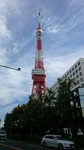 桜田通りから観た東京タワー