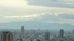丹沢山塊と富士山