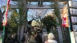 戸部杉山神社・鳥居と社殿
