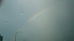 東名高速厚木IC付近の虹