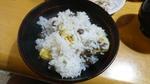 栗・零余子(むかご)ご飯
