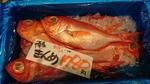 千葉県産のキンメダイ(金目鯛)2021.02.09
