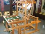 郡上紬の機織り機
