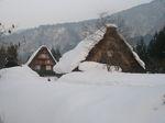 雪の合掌の家