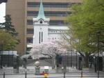 開港広場と横浜海岸教会