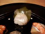 前菜・春子鯛の桜寿司