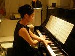 結婚式のピアニスト