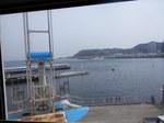海の風景(店内から)
