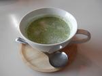 ホウレンソウとポテトのスープ
