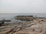 岩礁の岩畳