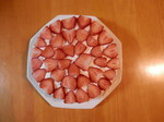 長女・夏子作・苺のショートケーキ