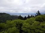 比叡山から俯瞰した琵琶湖