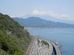 薩埵峠(さったとうげ)からの富士