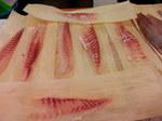 天然真鯛の半身