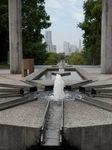 世界の広場、羅針盤型の噴水