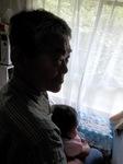 孫娘と過ごす幸福な午後