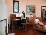 エリスマン邸ピアノ生演奏