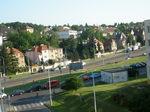 プラハ郊外の家並み