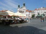 旧市街広場とミクラーシュ教会