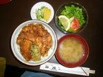 かき揚げ丼ランチセット