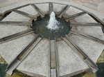 羅針盤型の泉(噴水)