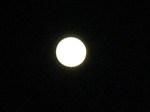 盆の夜の満月
