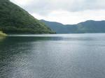 本栖湖の湖水