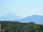 富士と大山