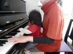 ピアノに夢中